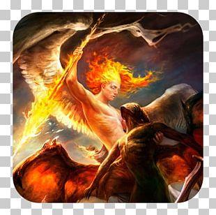 Michael Demon Angel Heaven Satan PNG