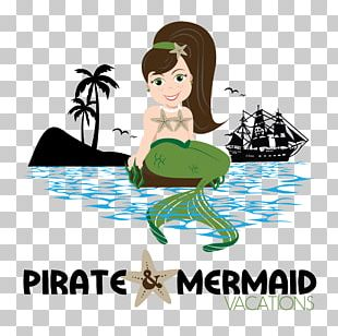 Pirate And Mermaid Vacations Piracy PNG