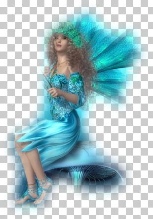 Fairy Turquoise Fashion Beauty.m PNG