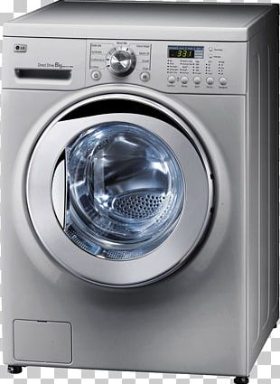 Washing Machine Combo Washer Dryer Clothes Dryer LG Corp PNG