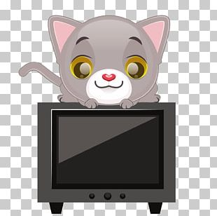 Cat Euclidean Television Illustration PNG