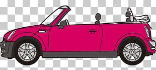 MINI Cooper Convertible MINI Cooper Roadster Sports Car PNG