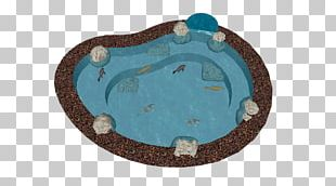 Oval M Turquoise Tableware PNG