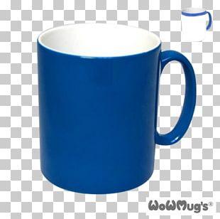 Coffee Cup Magic Mug Blue PNG