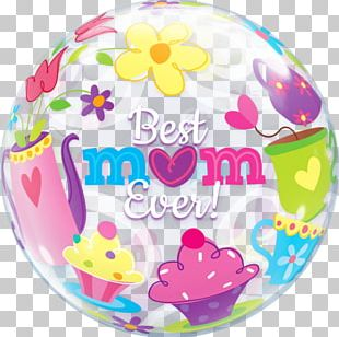 Gas Balloon Mother's Day Mylar Balloon Balloon And Party Service PNG