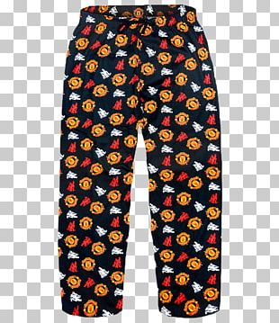Manchester United F.C. Trim Pants Pajamas PNG