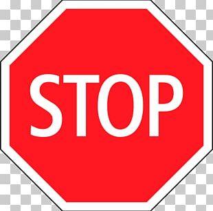 Stop Sign Traffic Sign Symbol Information Sign PNG