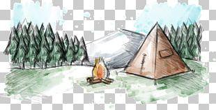 Madrean Pine-oak Woodlands Camping Watercolor Painting Euclidean PNG