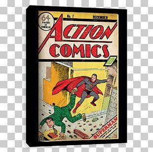 Superman Action Comics #1 Superhero Comic Book PNG