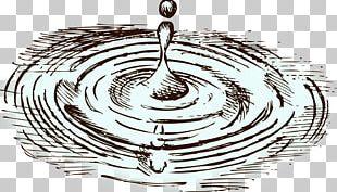 Water Drawing Drop PNG