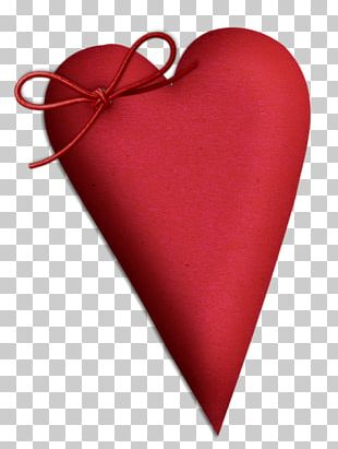 Heart Love Valentine's Day Red PNG
