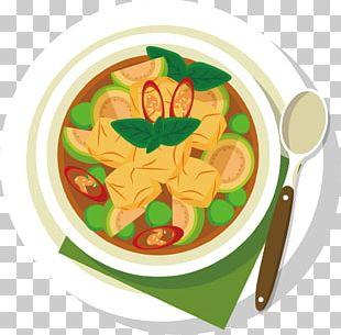 Meat Dish Soup Illustration PNG