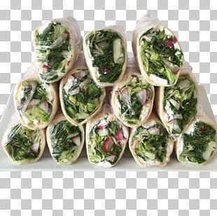 Vegetarian Cuisine Leaf Vegetable Wrap Recipe Salad PNG