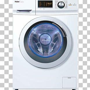 Washing Machines Clothes Dryer Beko Haier HW70-B14266 Washing Machine PNG