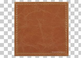 Brown Wallet Caramel Color Leather Wood Stain PNG