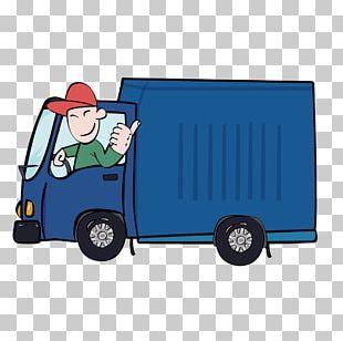 Car Truck Driver PNG