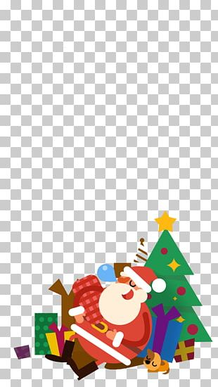 Santa Claus Christmas Ornament Christmas Tree Illustration PNG