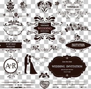 Wedding Decorative Pattern PNG