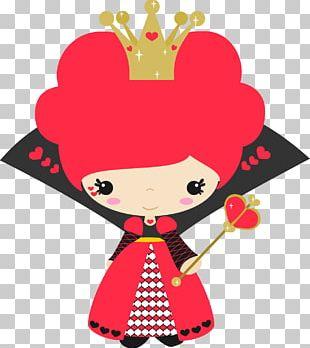 Alice's Adventures In Wonderland Queen Of Hearts PNG