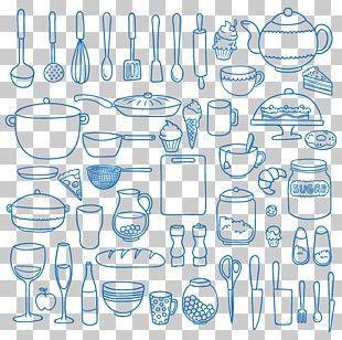Kitchen Pattern PNG