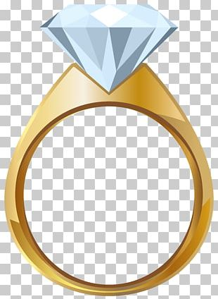 Wedding Ring Gold Engagement Ring PNG