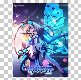 Azure Striker Gunvolt 2 Inti Creates Original Video Animation Video Games PNG