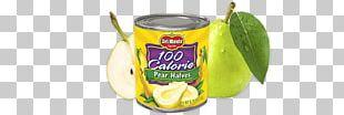 Pear Fruit Cup Flavor Food Calorie PNG