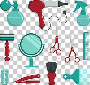 Comb Barber Beauty Parlour Scissors PNG