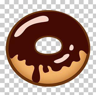 Donuts Emoji Breakfast Sticker Emoticon PNG