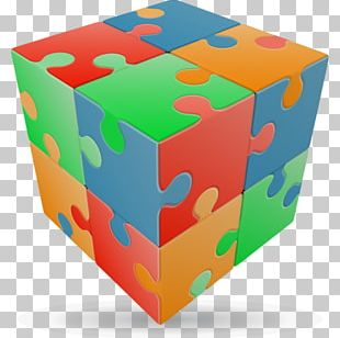 Jigsaw Puzzles Puzz 3D V-Cube 7 Rubik's Cube PNG
