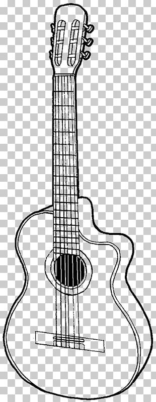 Gibson Les Paul Drawing Acoustic Guitar Sketch PNG