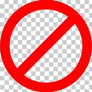 Stop Sign No Symbol Warning Sign Red PNG