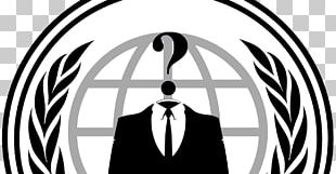 Anonymous Logo Security Hacker Tor PNG