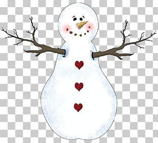 Facebook Snowman Christmas Decoration PNG