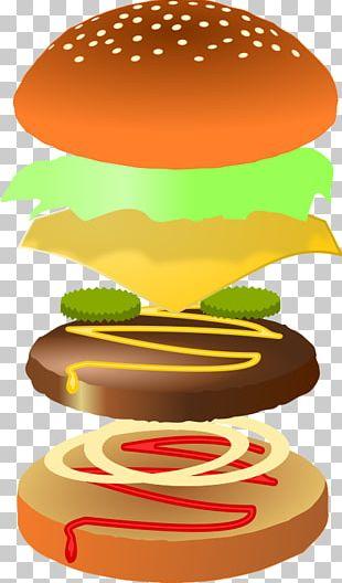 Hamburger Cheeseburger French Fries Pizza Fast Food PNG