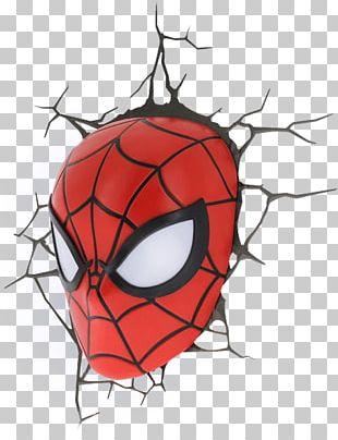 Spider-Man Light Iron Man Mask Superhero PNG