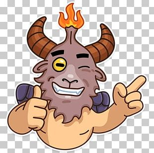 Sticker Baphomet Telegram Devil PNG