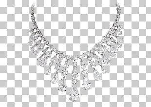 Necklace Earring Diamond Jewellery Brilliant PNG