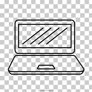 Laptop Coloring Book Drawing Line Art PNG