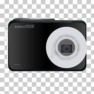 Digital Cameras Camera Lens Point-and-shoot Camera Digital Data PNG