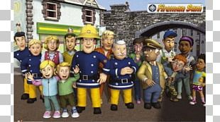 Fireman Sam And The Lost Lamb Firefighter Fire Department Plakat Naukowy Kunstdruck PNG
