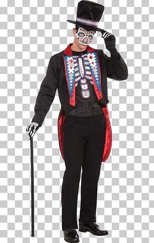 Day Of The Dead Halloween Costume Costume Party BuyCostumes.com PNG