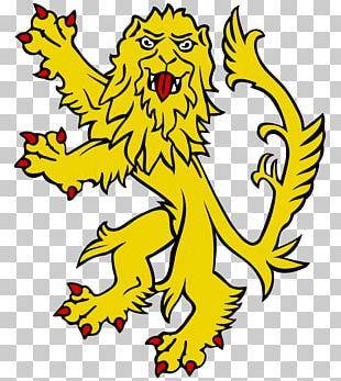 Lion Royal Banner Of Scotland PNG
