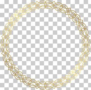 Circle Gold PNG