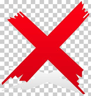 Check Mark Cross Red Tick PNG