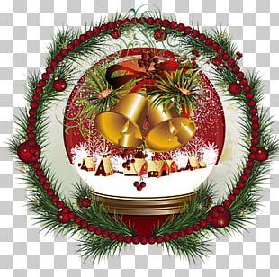 Christmas Ornament Christmas Wafer Ded Moroz Fir PNG