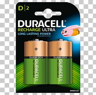 Battery Charger Duracell Nickel–metal Hydride Battery D Battery Rechargeable Battery PNG