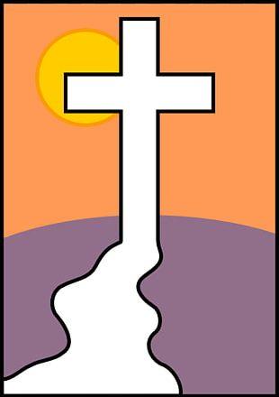 Calvary Christian Cross PNG