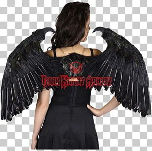 Feather Angel Wing Halloween Costume PNG