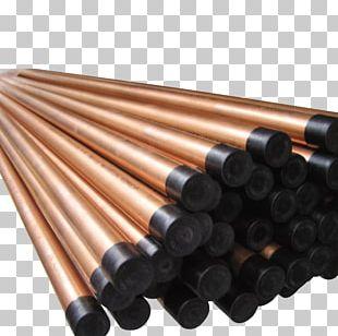Copper Pipe Metal Material Steel PNG